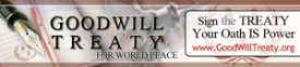 Sign the Goodwill Treaty for Peace