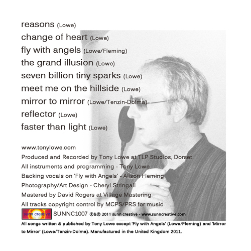 Back cover - reflector