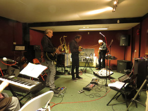 Tony Lowe, David Cross, David Jackson